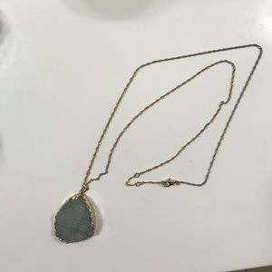 blue stone necklace!
